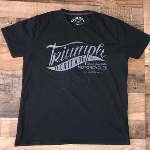 TRIUMPH MOTORCYCLES official  tee shirt